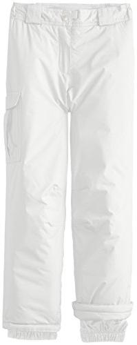 White Girls Cruiser Insulated Pants, Medium, Milky White