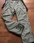 DC Ski Pants Snowboard Womens Size M Insulated Suspenders Si