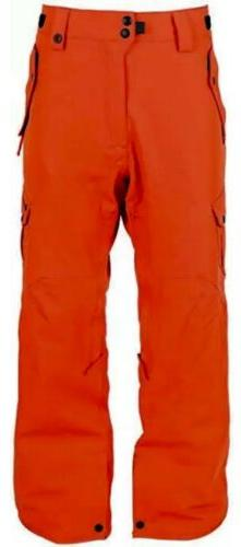 686 Defender Cargo Pants Snowboard Ski Burnt Orange KCR904N