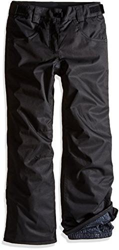 686 Girls Elsa Insulated Pants, Black, Medium
