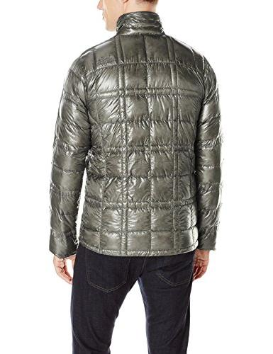 Outdoor Down Jacket, Pewter,