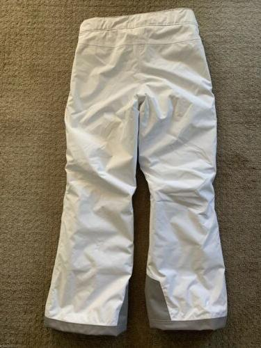 The Youth Ski Snowboard Pants White