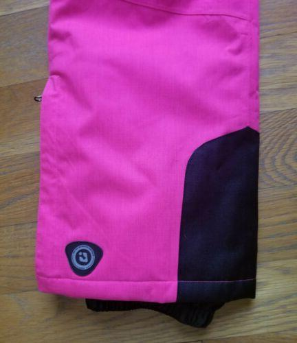 Girls Hot Pink Ski Pants by with