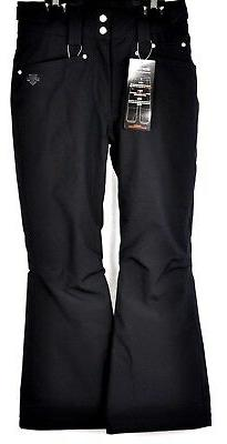 Descente Girls Selene Jr Ski Snow Pants DWJ-MGD05B Black Siz