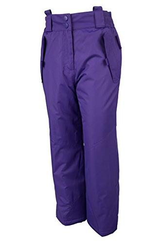 Mountain Warehouse Honey Kids Snow Pants Bibs, 9-10 Years