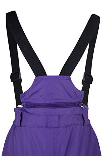 Mountain Warehouse Snow Bibs, Purple Years