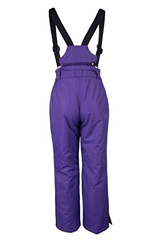 Mountain Warehouse Honey Kids Snow Pants Ski Bibs, Suspenders Years