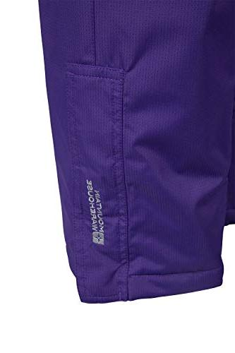 Mountain Snow Pants Bibs, 9-10 Years