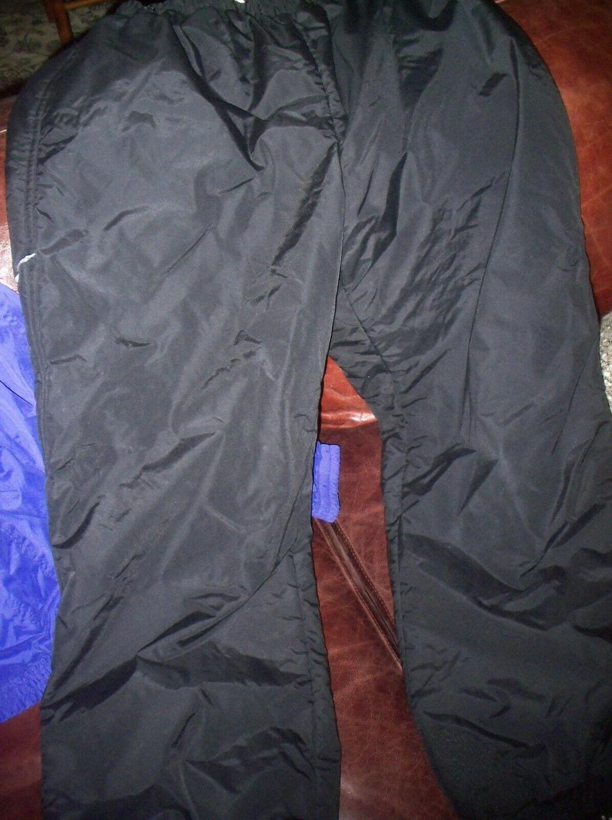 insulated mens black snow snowboarding ski pants