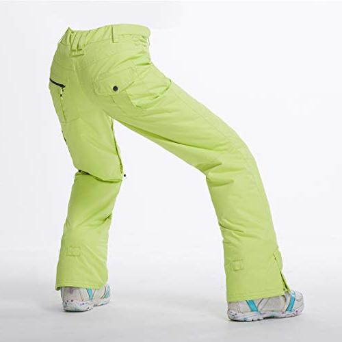 Snow Ski Pants Light Green