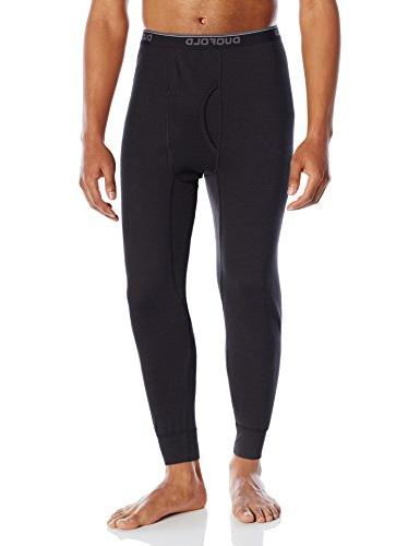 Hanes Thermals Mid-Weight Base-Layer Size Large, Black