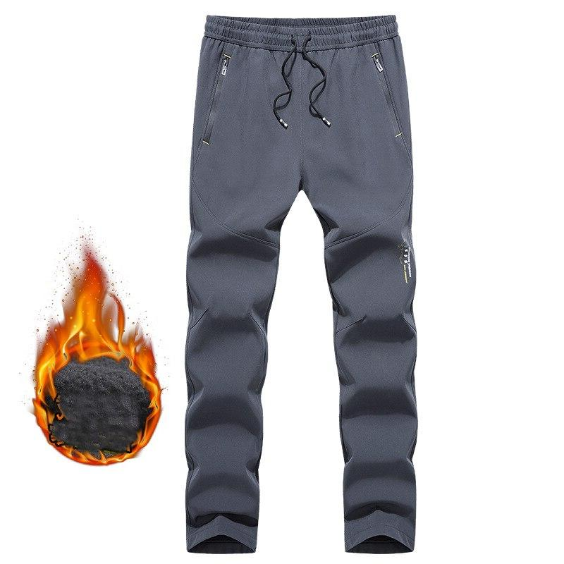 L-<font><b>5XL</b></font> Waterproof Autumn Warm Fish Run <font><b>Ski</b></font> Hike Sport Cycle Outdoor <font><b>Pant</b></font> Size Trousers