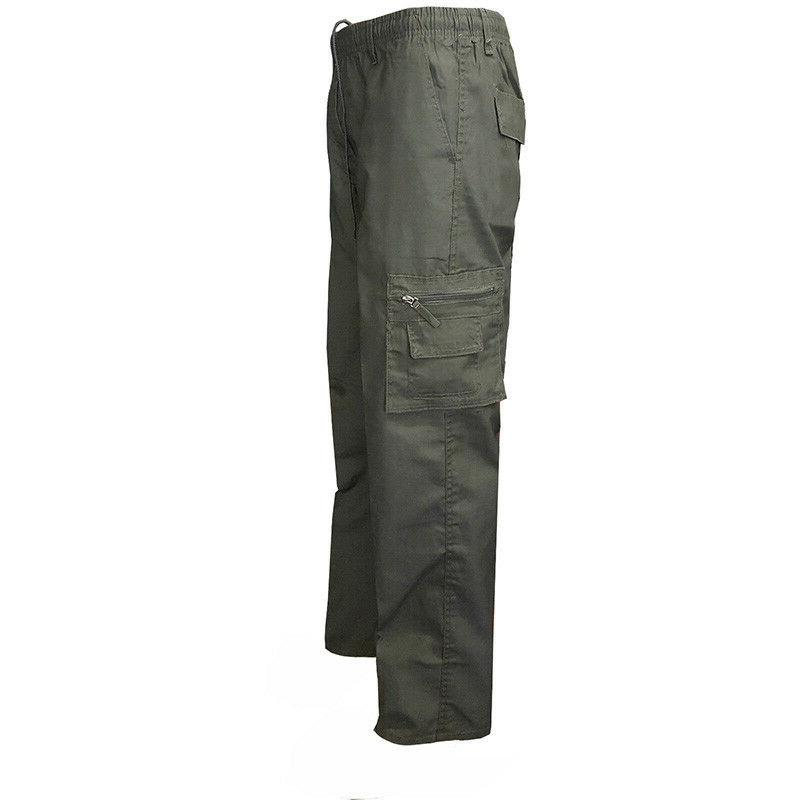 Men Pants Army Cargo Camo