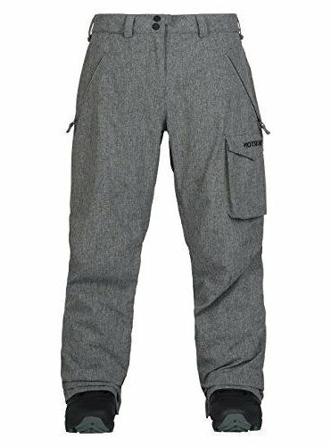 men s insulated covert pant bog heather