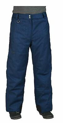 Arctix Men's Mountain Ski Pant Blue Night Melange Medium New