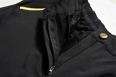Men's Windproof Fleece Lined Hiking Pants Snow Ski