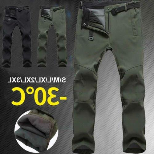 Skiing Trousers Waterproof Quick Hiking