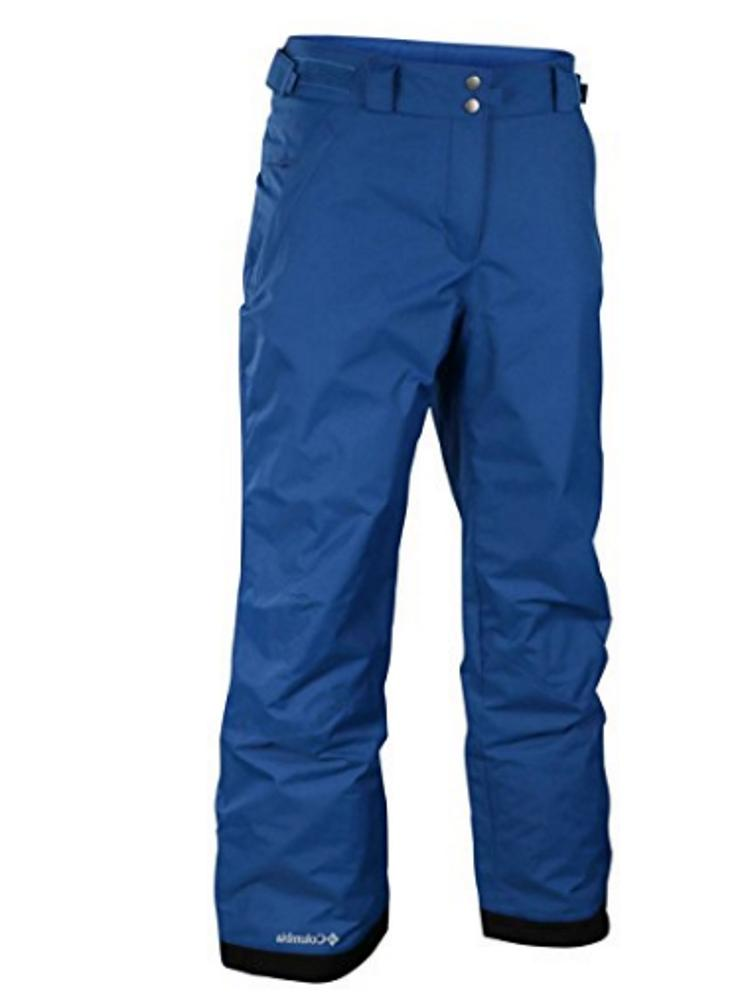 men s ski snowboard pants royal blue
