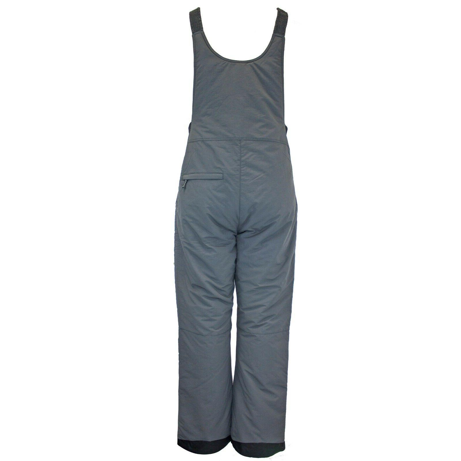 White Sierra Insulated Snow Pants Bib - 2XL