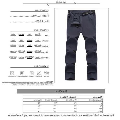 Men's Outdoor Ski Pants Windproof Waterproof