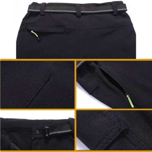 Men's Warm Ski Pants Windproof Waterproof