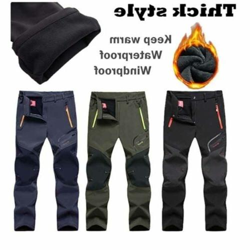 Skiing Soft Mens Lined Bottoms