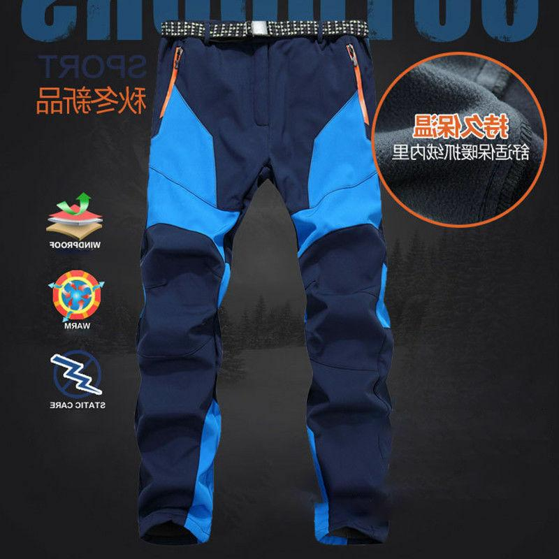 Men's Waterproof Ski Pants Hiking Trousers