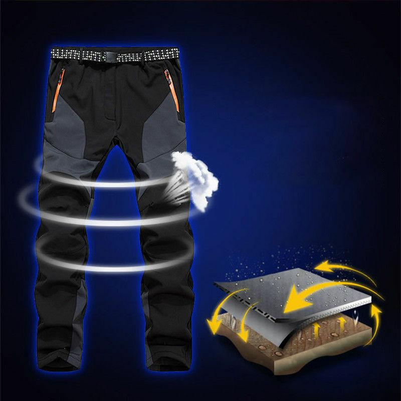 Men's Warm Ski Snowboard Outdoor Hiking Trousers