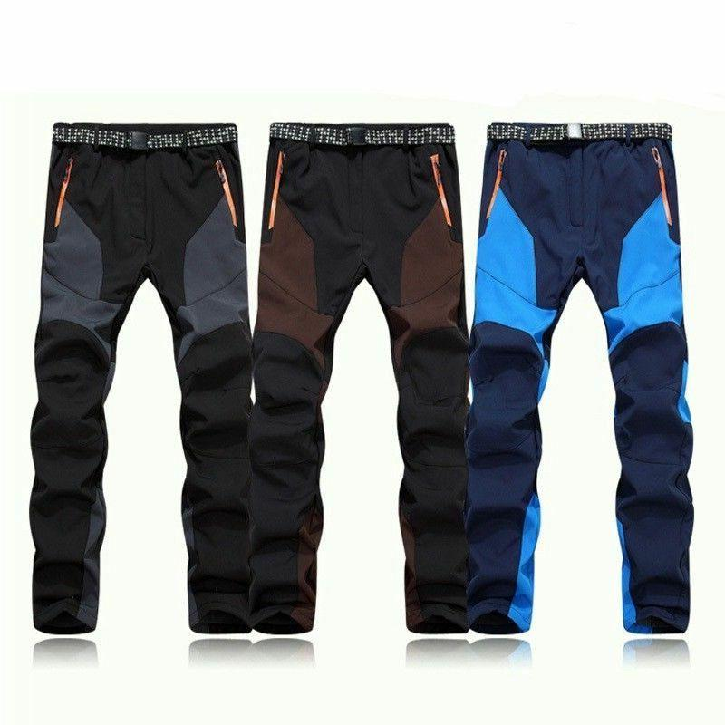 Men's Ski Snowboard Pants Outdoor Hiking Climbing Trousers