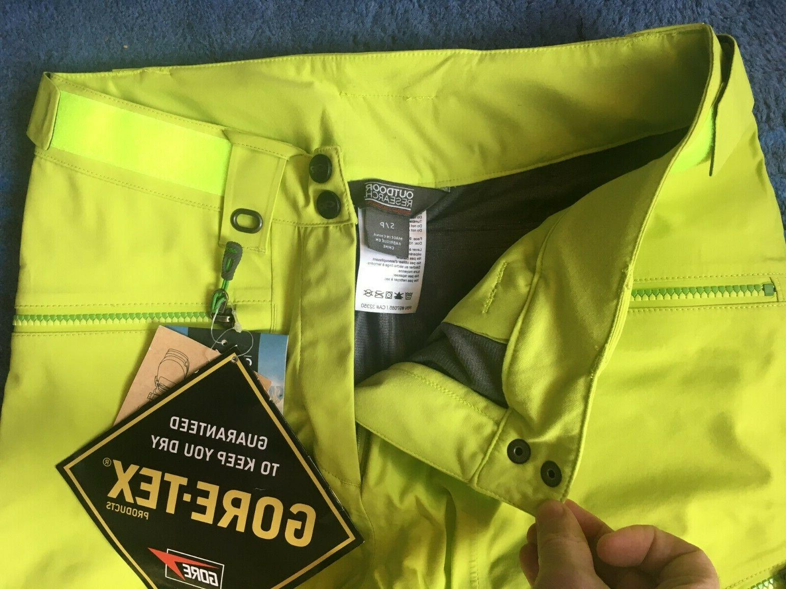 Outdoor Research ROOM GORE TEX SKI PANTS Small x