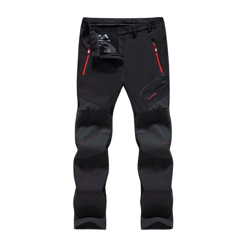 Men Women Ski Pants Outdoor Warm Trousers Windproof Waterproof Hiking