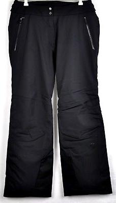 Kjus Mens Formula Insulated Ski Pants MS20-E03 Black Size 54