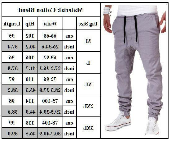 Mens Sport Long Trousers Tracksuit Gym