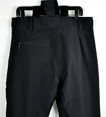 Descente Ski Team Suspender Pants DWM-MGD03 Black Size