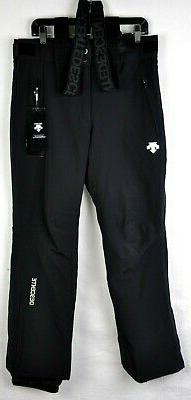 mens swiss ski team suspender snow pants