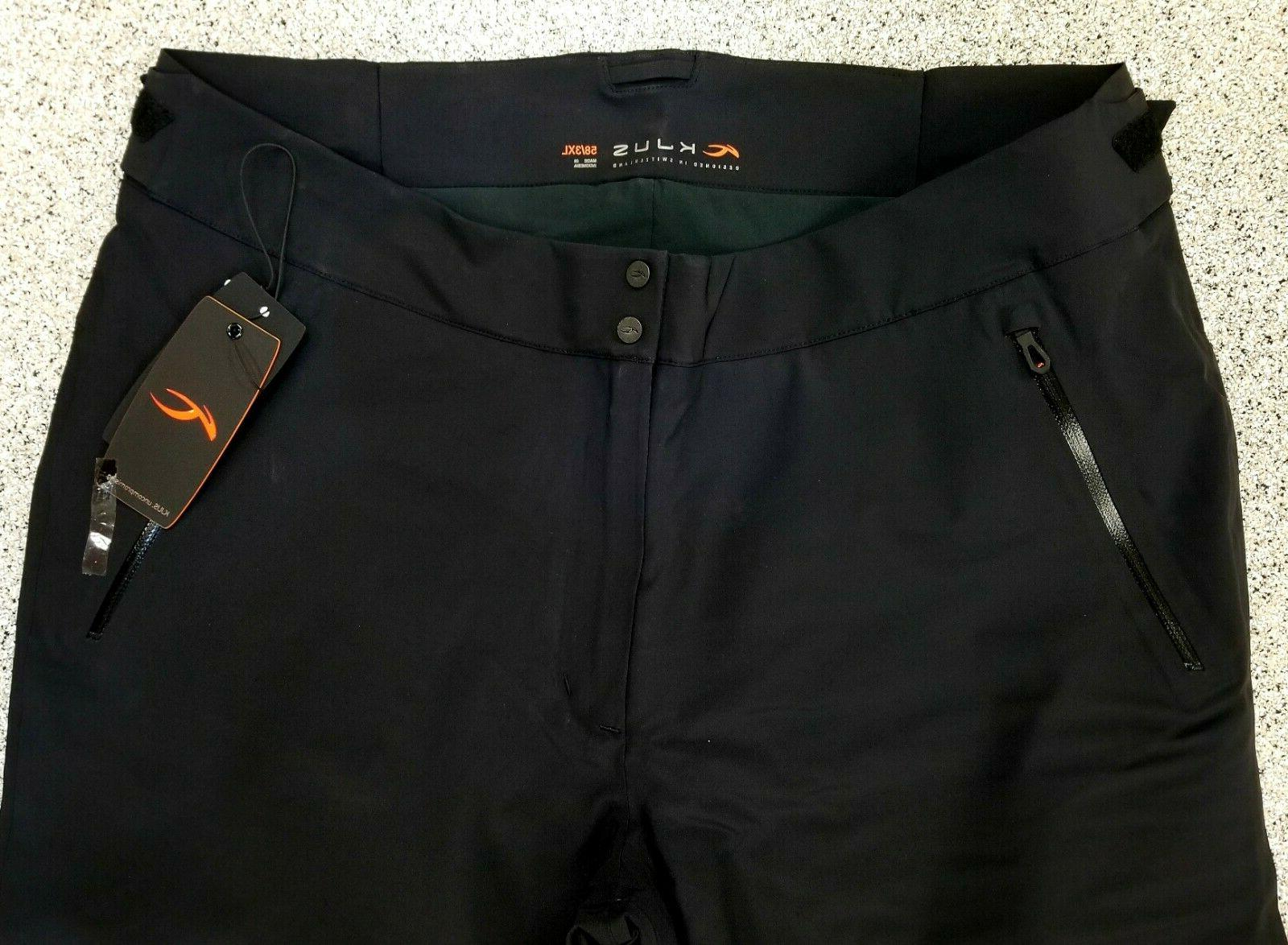 New Mens FORMULA Waterproof Snowboard Pants Black