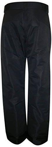 New Pulse Mens and 4XL 5XL Snow Ski Pants Black MDL