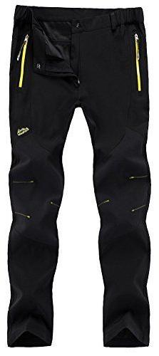New Singbring Outdoor Hiking Ski Pants For Men, Small Black