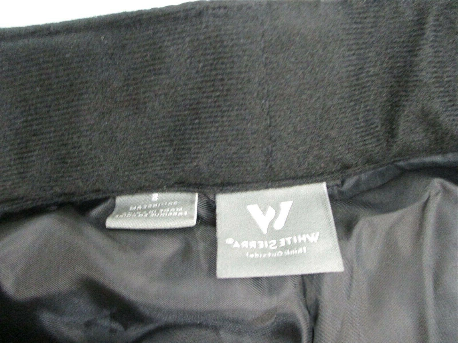 new WHITE Men's Snow Insulated Outer Layer Black