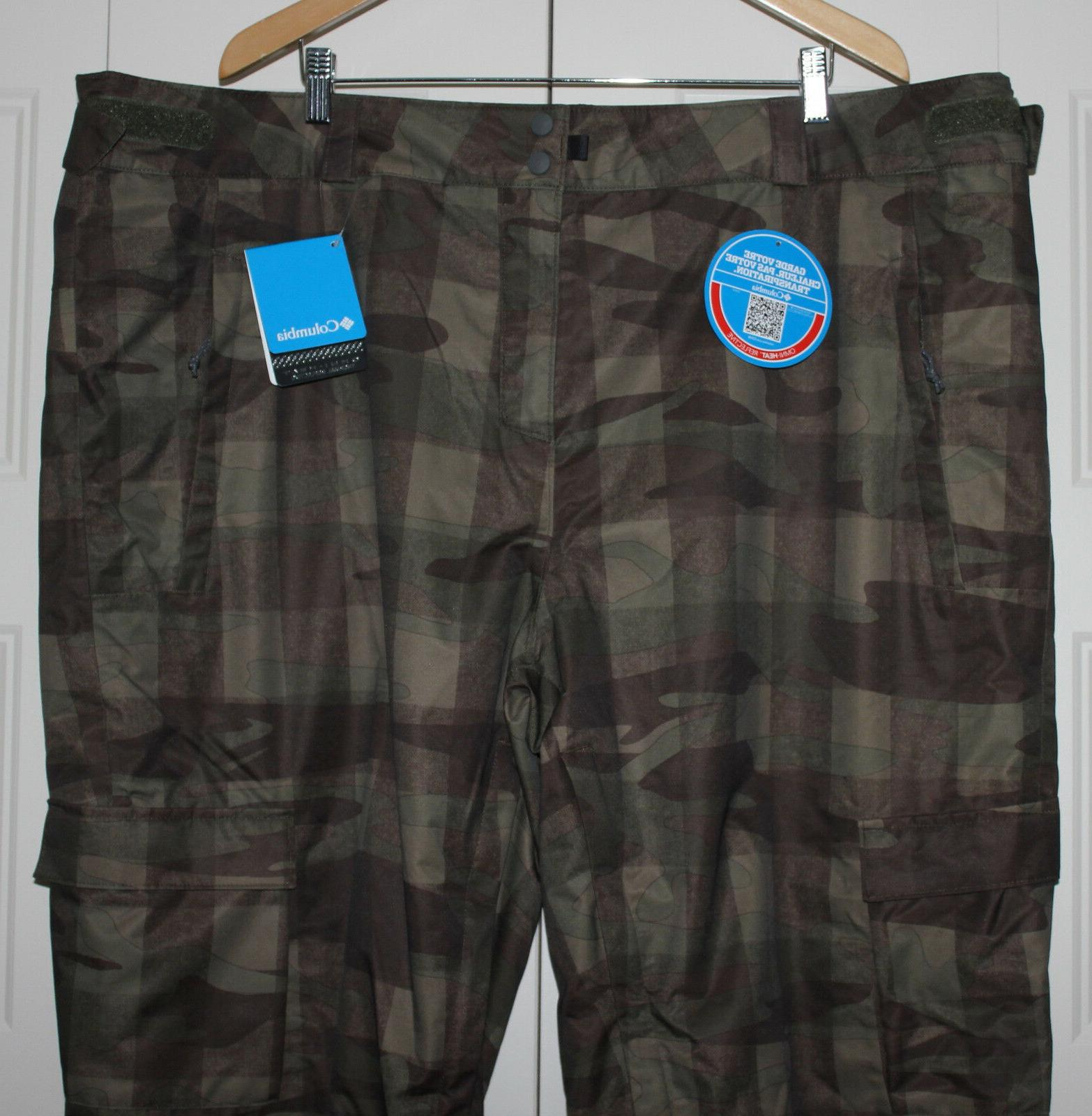 NEW Columbia Ski Pants size 4XL 2 Run II Omni