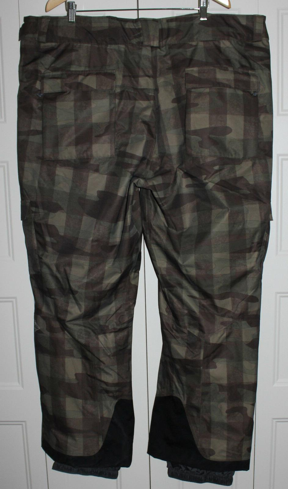 NEW Columbia Ski Pants 4XL II Heat