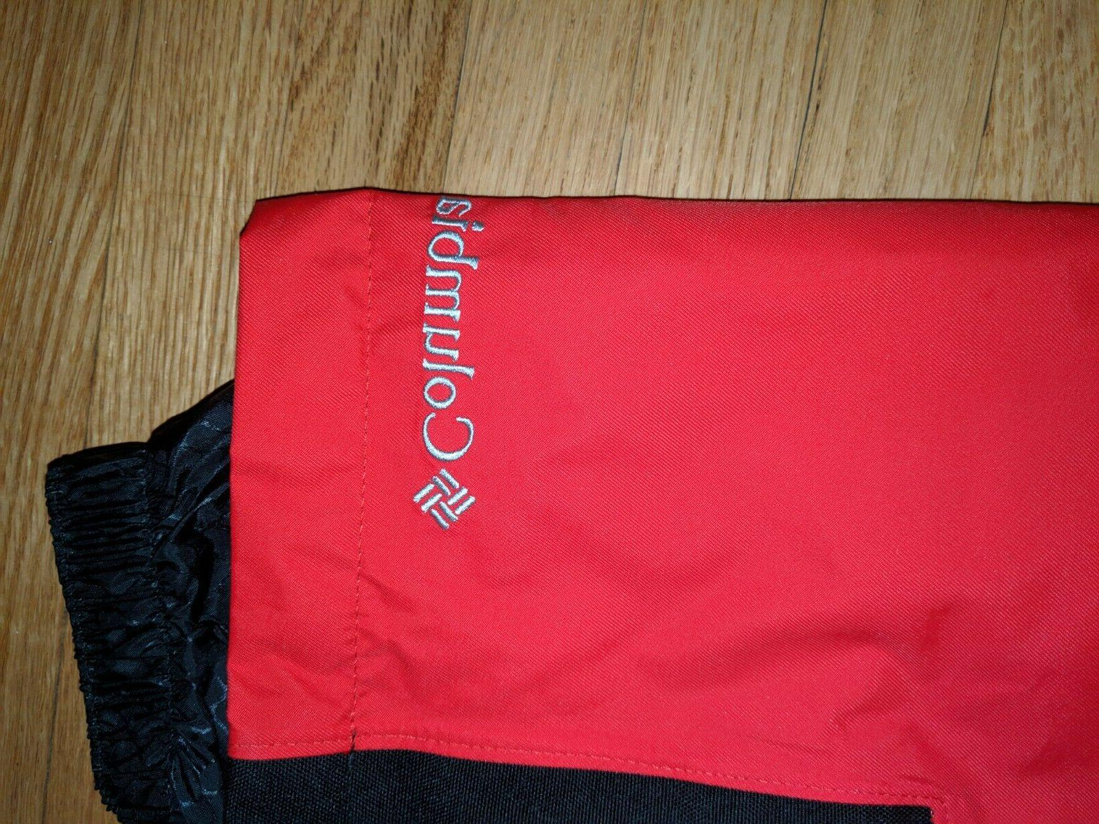new without tags Omni Heat Bugaboo pants ski red Small