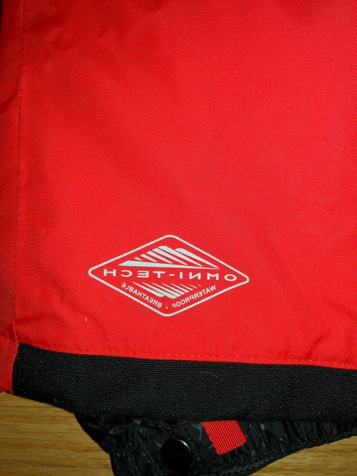 new without Omni Heat pants ski red Small