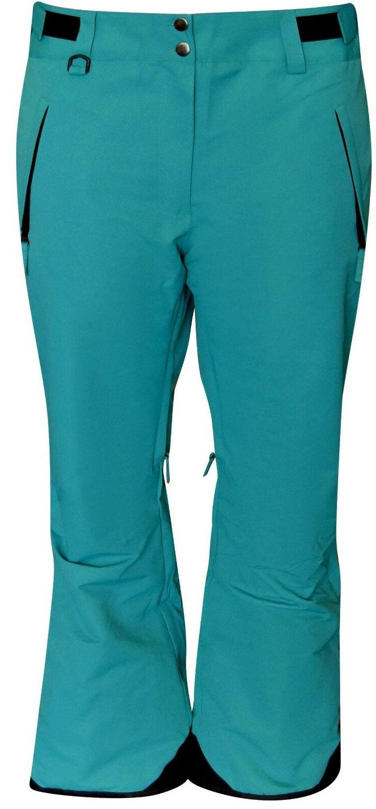 new womens ski pants insulated s m