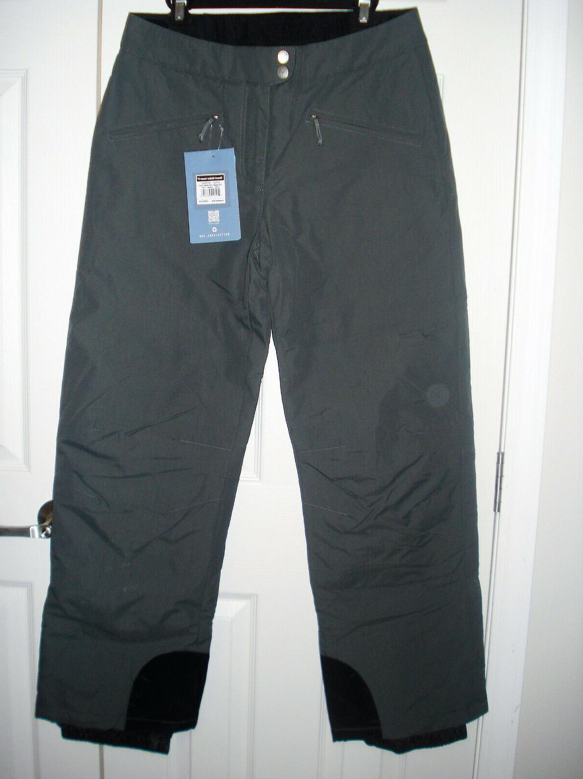 new womens toboggan insulated ski snow pant