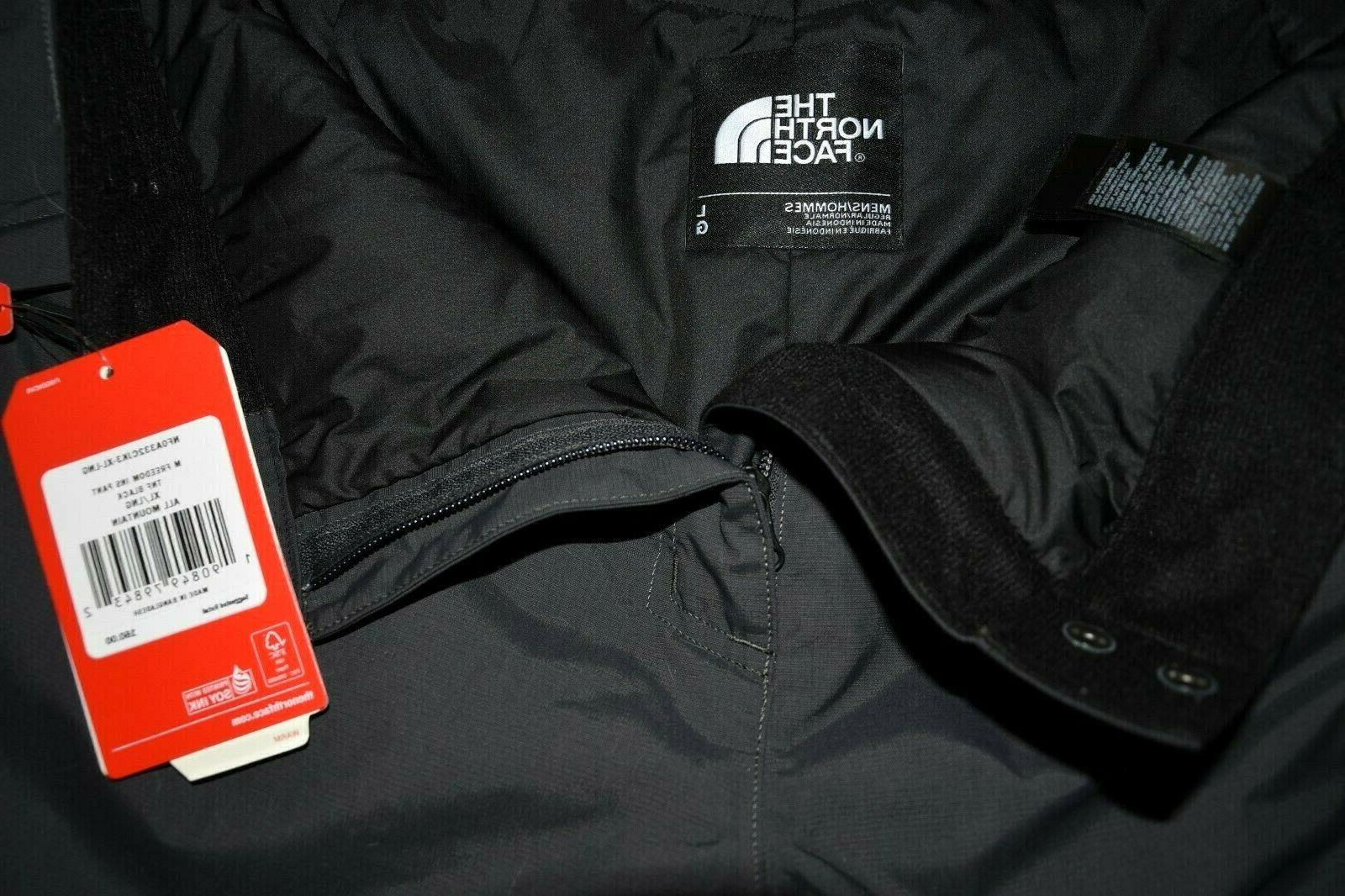 North Face Freedom Insulated Pants Large ski New