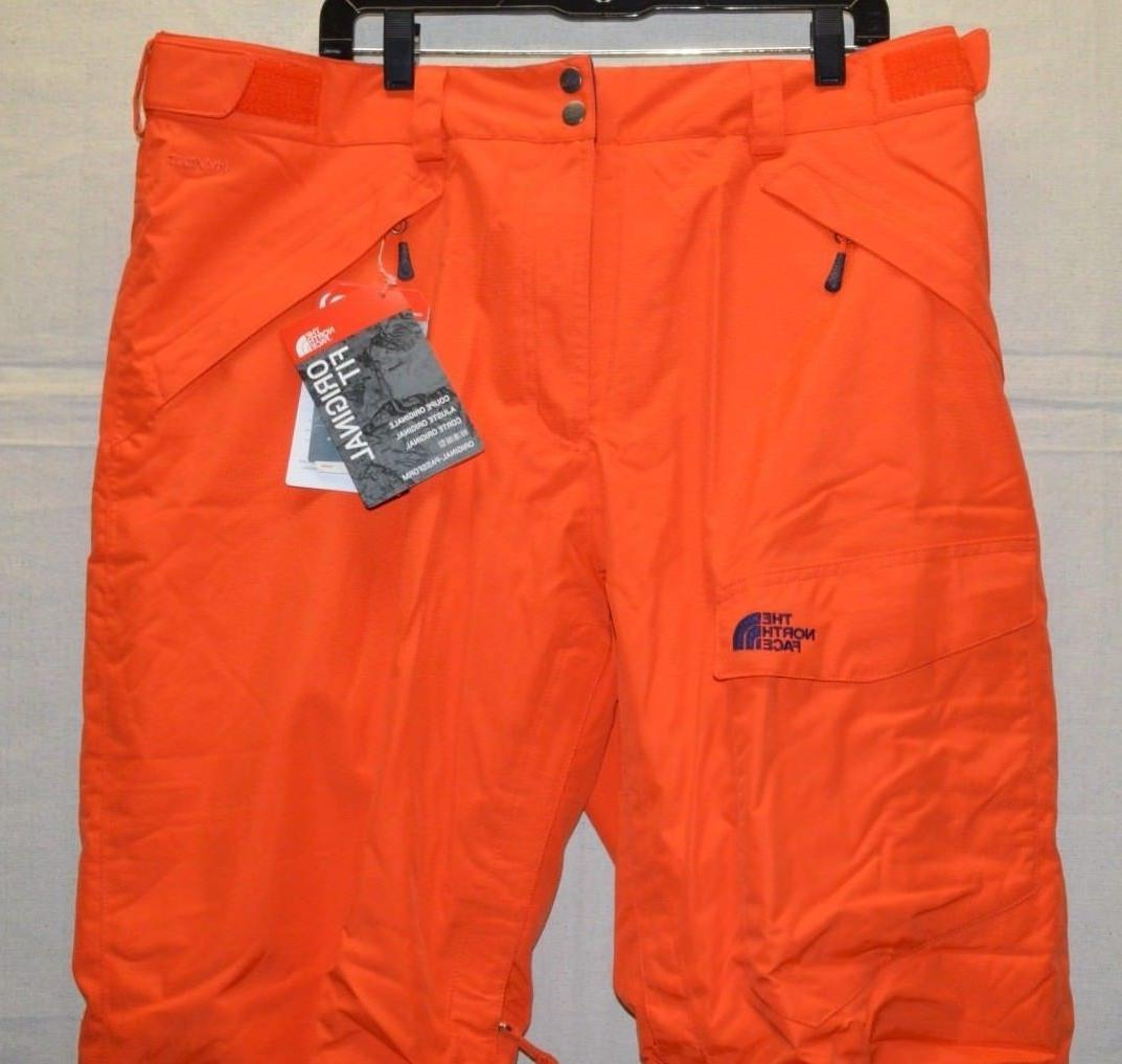 North Face Mens Insulated Ski Pants Hyvent Wind Protection XXL