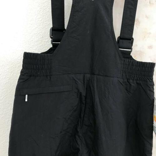 NWT Trail Bib size Youth Nylon Black