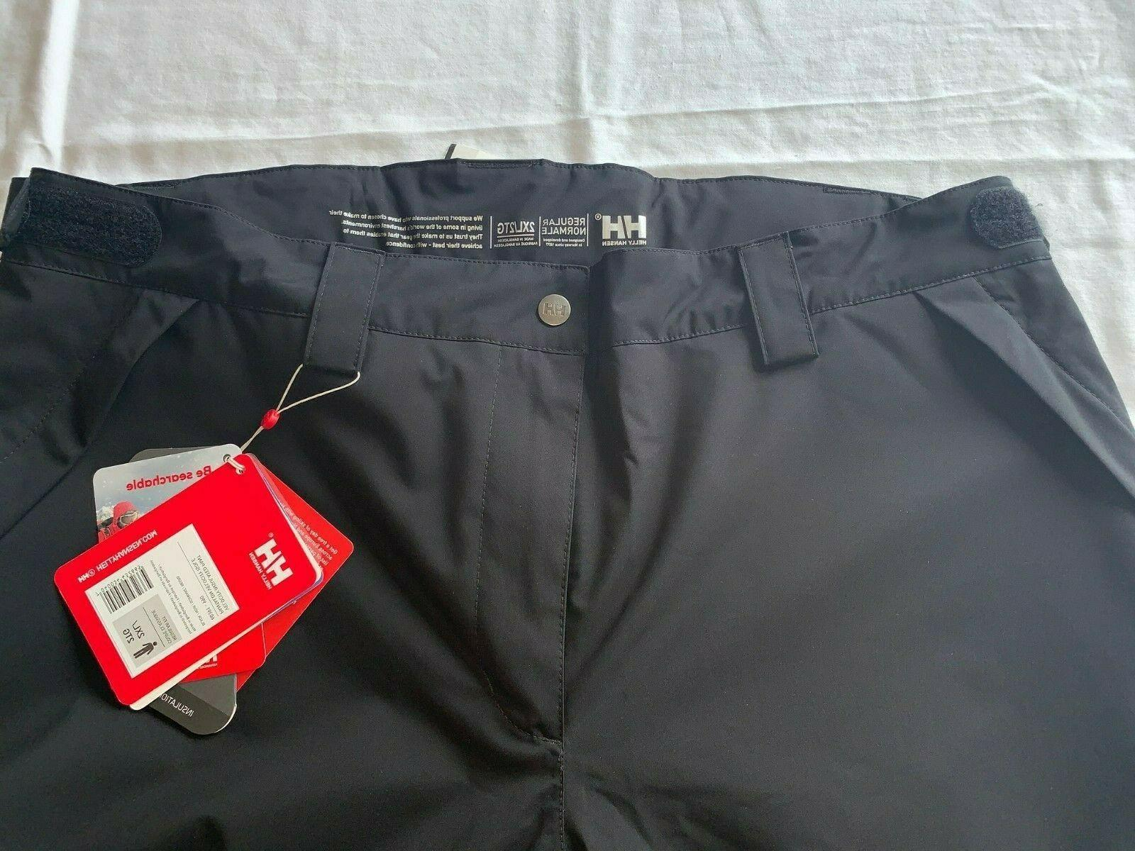 NWT Helly Velocity Insulated Pant- Size Retail