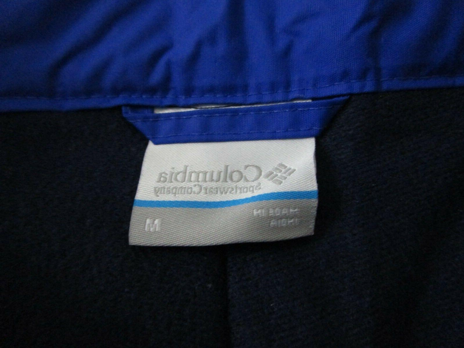 NWT Mens Columbia Gun Insulated Snow Winter Ski Pants Azul
